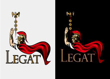 Guerreiro romano Legat warlord Imagens de Stock Royalty Free