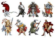 guerreiros Fotos de Stock Royalty Free