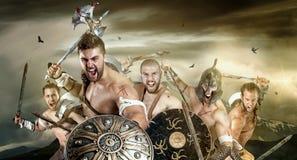 guerreiros foto de stock royalty free