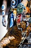 Guerreiros antigos maias Fotos de Stock Royalty Free