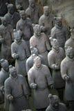 Guerreiros da terracota Foto de Stock