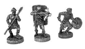 Guerreiros do metal Fotos de Stock Royalty Free