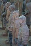 Guerreiros do Terracotta Imagem de Stock Royalty Free