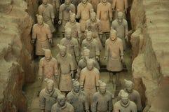Guerreiros do Terracotta Foto de Stock Royalty Free