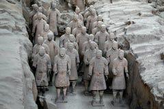 Guerreiros do Terracotta, XiAn, China Fotografia de Stock