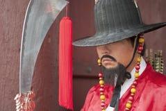 Guerrero antiguo coreano Fotografía de archivo