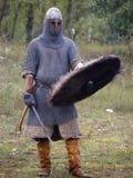Guerrero armado Foto de archivo libre de regalías