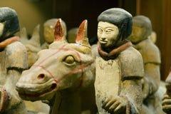 Guerrero a caballo Fotografía de archivo