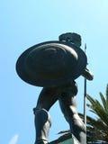 Guerrero con el blindaje Fotografía de archivo libre de regalías