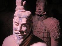GUERRERO DE LA ARCILLA EN EJÉRCITO FANTASMA CHINO ANTIGUO Imagenes de archivo