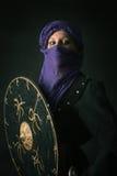 Guerrero de la mujer Imagen de archivo libre de regalías
