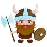 Guerrero 2 de Viking del vector Imagen de archivo libre de regalías