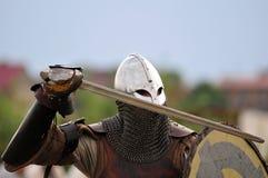 Guerrero de Vikingo Fotos de archivo