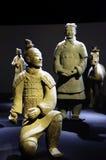 Guerrero del chino del ejército de la terracota Imagen de archivo libre de regalías