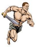 Guerrero del gladiador Imagenes de archivo