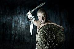 Guerrero del gladiador Fotografía de archivo