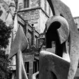 Guerrero del hierro Fotografía de archivo