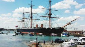 Guerrero del HMS Foto de archivo libre de regalías