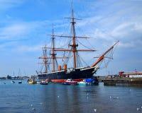 Guerrero del HMS Foto de archivo