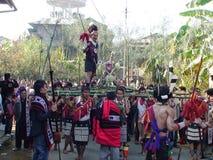 Guerrero del Naga Fotografía de archivo libre de regalías