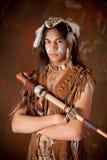 Guerrero indio Fotos de archivo