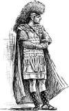 Guerrero romano stock de ilustración