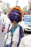 Guerrero sikh Foto de archivo libre de regalías