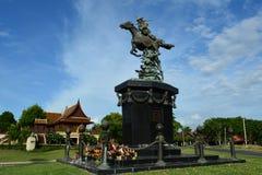 Guerreros antiguos en Ayutthaya Imagenes de archivo