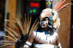 Guerreros antiguos mayas Imagen de archivo