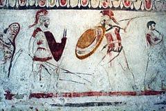Guerreros de Lucani Imagenes de archivo