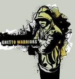 Guerreros del ghetto Imagen de archivo