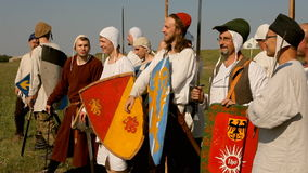 Guerreros medievales metrajes