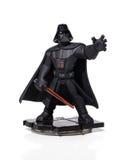 Guerres des Étoiles de Nintendo d'amiibo de Darth Vader photo libre de droits