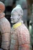 Guerrier chinois de terre cuite Photos stock