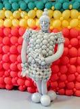 Guerrier de ballon d'amusement Images stock