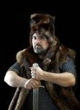 Guerrier de Cimmerian.barbarian Photo stock