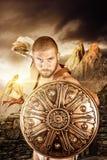 Guerrier de gladiateur Images libres de droits
