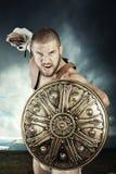 Guerrier de gladiateur Image libre de droits