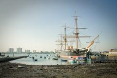 Guerrier de HMS Photographie stock libre de droits