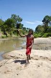 Guerrier de masai photo libre de droits
