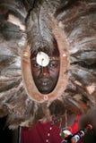 Guerrier de masai (Kenya) Photo libre de droits