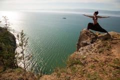 Guerrier de yoga Images libres de droits