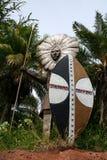 Guerrier hawaïen Photos libres de droits