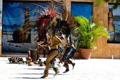 Guerrieri antichi Mayan Fotografie Stock
