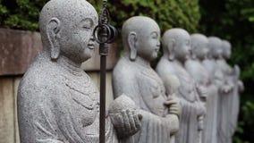 Guerrieri Buddha Monastero buddista nel Giappone video d archivio
