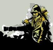 Guerrieri del ghetto royalty illustrazione gratis