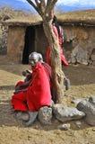 Guerrieri di Maasai Fotografia Stock Libera da Diritti