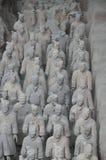 Guerrieri di terracotta Fotografie Stock