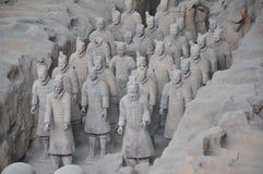 Guerrieri di terracotta Immagine Stock