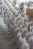 Guerrieri di terracotta Fotografia Stock